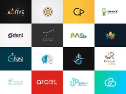 Design you a professional logo+ free Favicon + logo source files