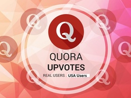 Get 50 Quora UpVotes Or Followers From Genuine USA Quora Account