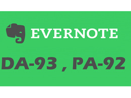 """Write And Publish A Guest Post On """"Evernote"""" DA-93, Alexa-494"""