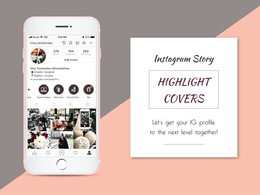 Create Instagram Story Highlight Covers (Icons)