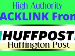 Get You HQ Random Backlink From Huffington Post