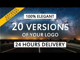 I will create 20 Versions Intros Available with Logo or Text