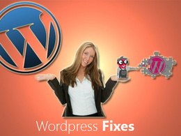 Do 1 hour of Fix the bugs and customization on WordPress website