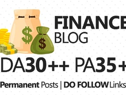Publish article on Finance site DA70
