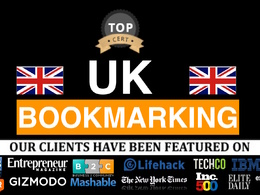 Create 24 British Bookmark Submission With Uk Domains : SEO