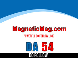 Publish guest post on magneticmag – magneticmag.com – DA 54