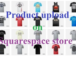 Upload Products on your Squarespace, Shopify, Wordpress webstore