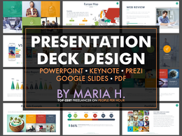 Design branded Powerpoint / Keynote / Prezi presentation