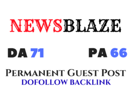 Provide guest post on newsblaze.com