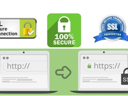 Install SSL certificate and secure your website