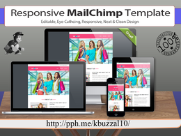 Make Responsive Editable & Eye Catching Mailchimp Email Template