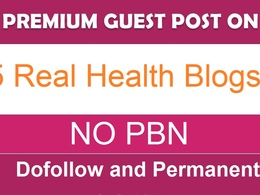 Guest post on 5 TOP quality Health websites