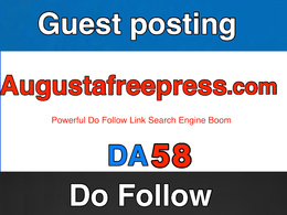 Guest post on augustafreepress – augustafreepress.com – DA 58