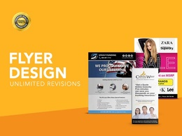 Design an affordable flyer/postcard/leaflet/invitation