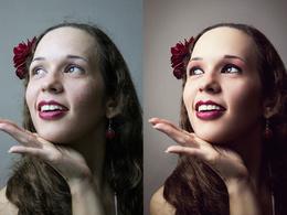 Retouch 1 portrait or fashion picture