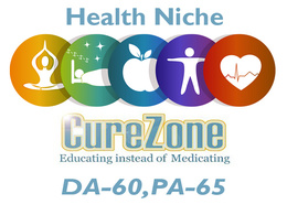 "Write And Publish Health Niche Guest Post on ""Curezone""  DA-60"