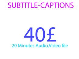Make you scc CLOSED CAPTION,SUBTITLE, 20 minutes video