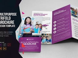 Design Any Types Of Amazing Brochure or Food Menu In 24 Hours