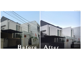 Clean and edit your architectural photography by photoshop