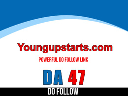 Publish guest post on Youngupstarts – Youngupstarts.com – DA 47