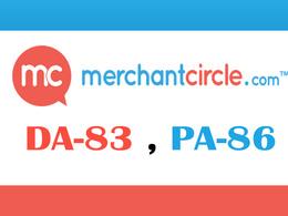 "Write And Publish A Guest Post On ""Merchantcircle"" DA-83"