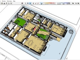 3D Sketchup model from 2D drawings