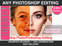 Do any photoshop job in 24 hour
