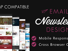 Design your HTML email campaign, newsletter or Email template