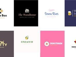 Premium quality logo + free Business card  +  free favicon