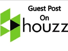 Publish a guest post on Houzz. com DA 94 with No follow Link