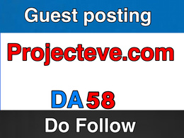 Guest post on Projecteve – Projecteve.com – DA 58