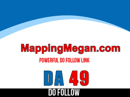 Publish guest post on mappingmegan – mappingmegan.com – DA 49