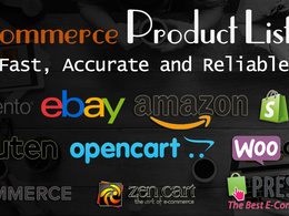 Add / list 50 products on your ecommerce site / store / shop
