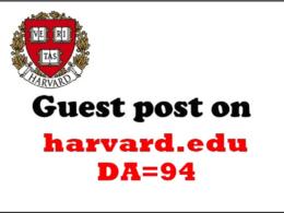 Provide Guest Post On Harvard.edu _ Harvard Da 94