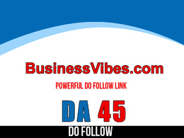 Publish guest post on BusinessVibes – BusinessVibes.com –  DA 45