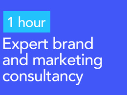 1 HOUR expert brand and marketing consultancy session