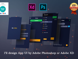 Design Mobile Ui, Website Ui, Web App Ui, Dashboard UI By Adobe