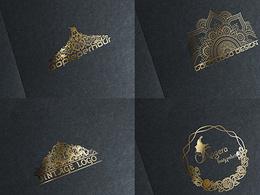Premium gold logo