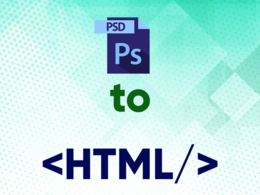 Convert a PSD or site design to HTML