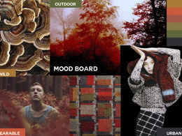 Craft an on-trend mood board for design direction