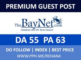 Publish a Guest post on thebaynet - thebaynet.com, DA55