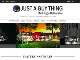 Publish your article to my (DA 43) Men's Lifestyle Website