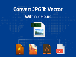 Convert Jpg To Vector Within 3 Hours