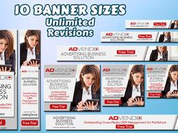 Design Google Display Ads Banner Set