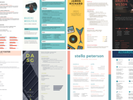 Design stunning resume or poster with in 48 hours