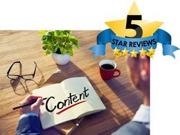 Write SEO friendly, unique website content for your website