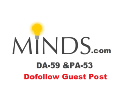 Publish Guest Post on Minds with Dofollow Link 65 Discount offer