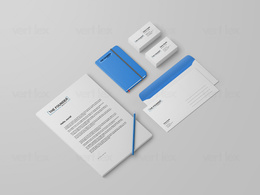 Design creative as well as professional business stationery