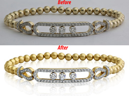 Do Studio quality retouch on your 36 jewellery