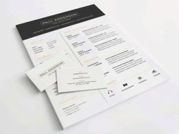 Design Resume Cover Letter In 2 Hour